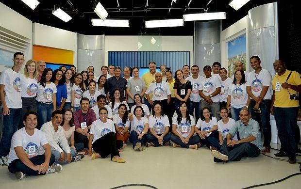 Profissionais paricipam do 3º Encontro de Jornalismo da Rede Amazônica em Rondônia (Foto: Angelina Ayres Medeiros/Rede Amazônica)