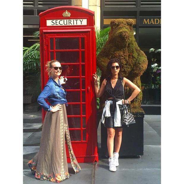 Fernanda Paes Leme e Fernanda Rodrigues viajam juntas (Foto: Reprodução/Instagram)