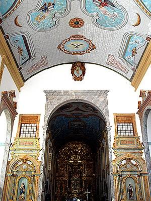Interior da Igreja da Sé, em São Luís (MA) (Foto: Maurício Araya / G1)