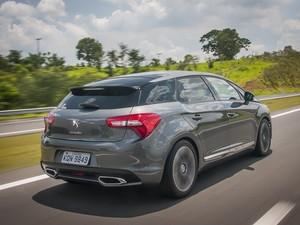 Citroën DS5 propõe linhas arrojadas e com requinte de modelos luxuosos (Foto: Gustavo Epifanio/G1)