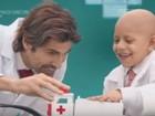 Crianças com câncer realizam sonhos em campanha do GRAACC