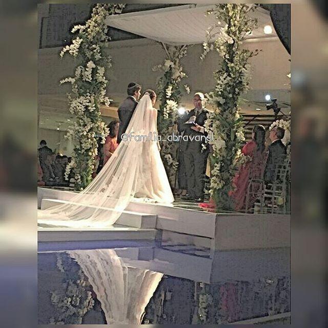 Casamento de Renata Abravanel e Caio Curado (Foto: Reprodução/Instagram)