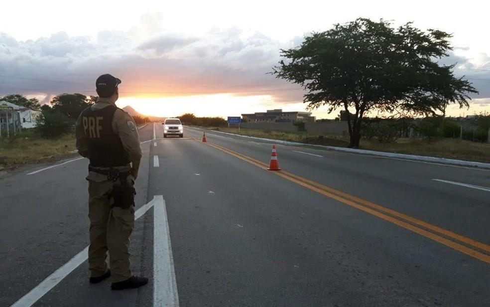 PRF aumentará fiscalização nas estradas federais do RN a partir desta quarta-feira (14). (Foto: Divulgação/ PRF)