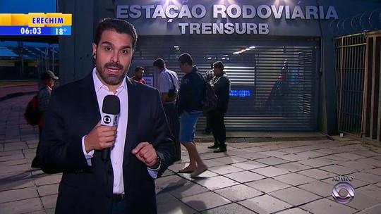 Cidades do interior do RS registram protestos nesta sexta-feira