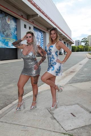 Sabrina Boing Boing e Vanessa Alcântara (Foto: Marco Ribas/EGO)