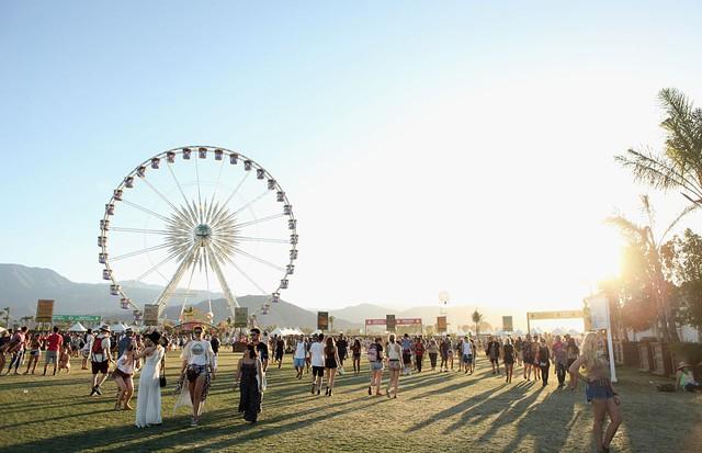 O festival Coachella, que acontece em abril  (Foto: Getty Images)