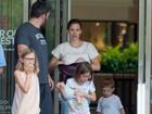 Jennifer Garner e Ben Affleck são fotografados usando alianças