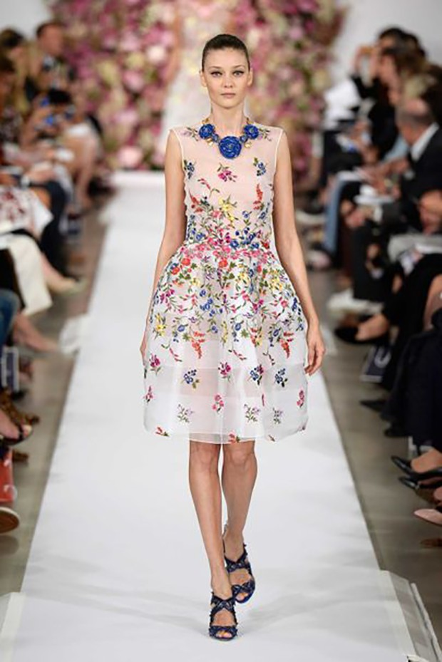 Oscar de la Renta, Spring/Summer 2015 ready-to-wear, look 37 (Foto: © CATWALKING)