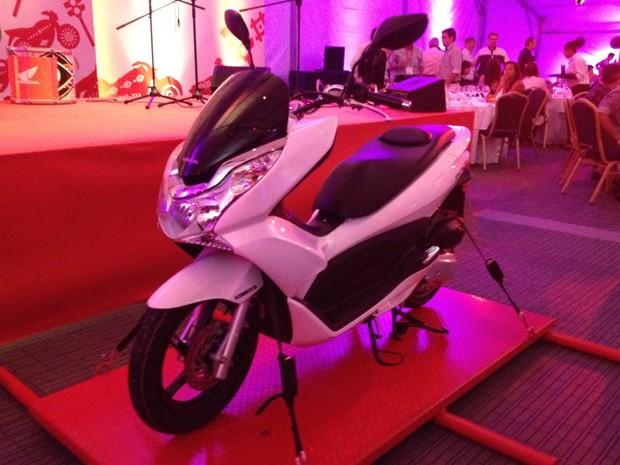Honda PCX 150 (Foto: Rafael Miotto/G1)