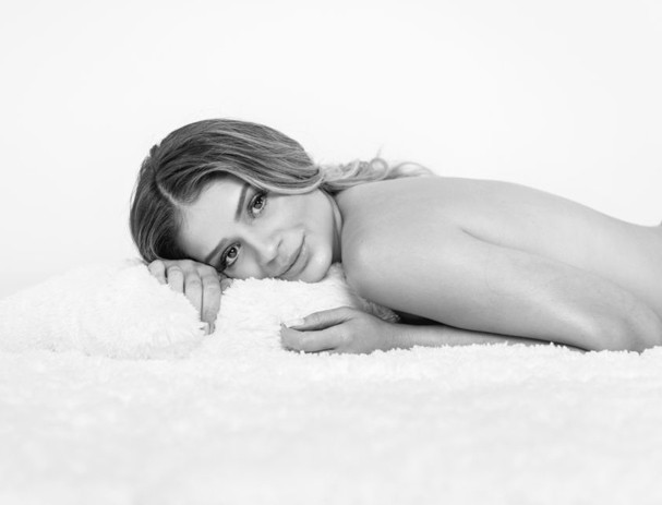 Thássia Naves em ensaio pra The Body Shop (Foto: Fernando Schlaepfer)