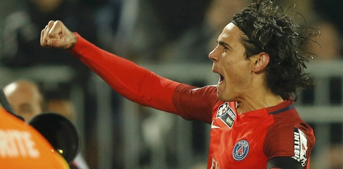 Cavani, PSG, Arsenal x Paris Saint-Germain (Foto: REUTERS/Regis Duvignau)