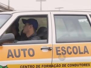 Centro de Formação de Condutores de Mato Grosso do Sul (Foto: Reprodução/TV Morena)