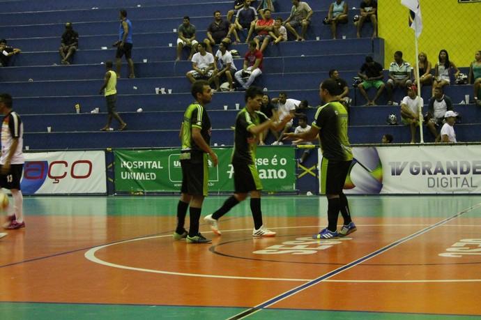 O time de Trindade conseguiu uma boa vitória contra o Bairro José e Maria (Foto: Amanda Lima)