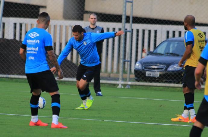 Edinho Grêmio (Foto: Eduardo Moura/GloboEsporte.com)