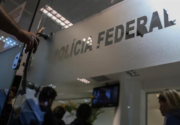Polícia Federal, no Rio de Janeiro (Foto: EFE)