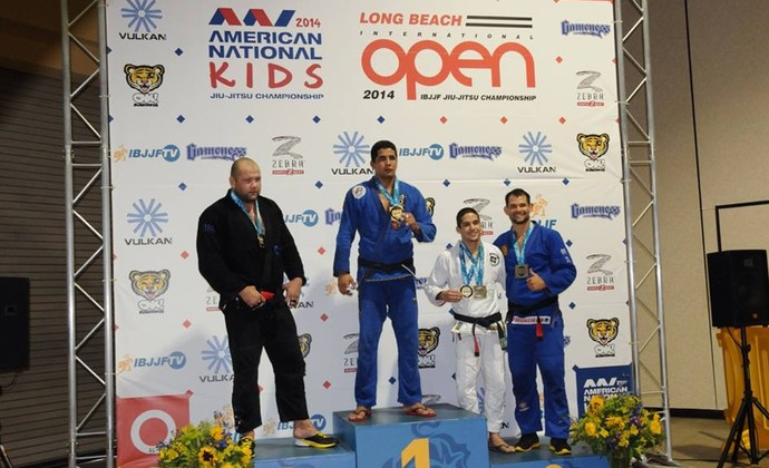 Eduardo Inojosa campeão do Long Beach Open (Foto: Arquivo Pessoal)