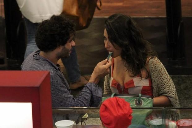 Giselle Itié e Guilherme Winter  (Foto: Photorionews)