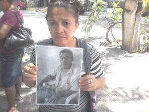 Francisca Carla Santana Rodrigues (Foto: Thiago Conrado/ G1)