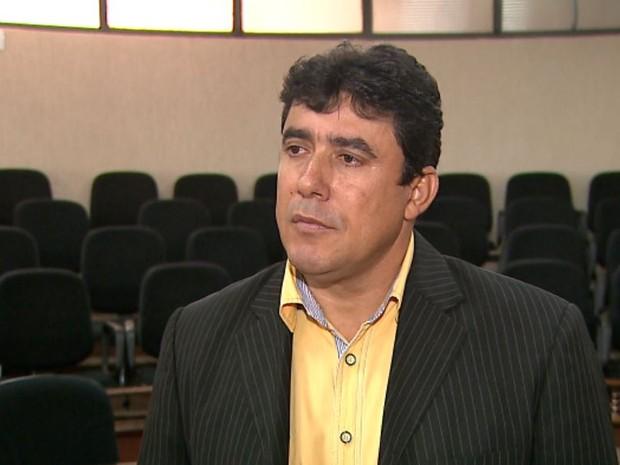 O vereador Antonio Eurípedes da Silva, de Guaíra (SP) (Foto: Valdinei Malaguti/EPTV)
