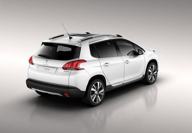 Peugeot 2008 terá estreia mundial no Salão de Genebra, em março (Foto: Divulgação)