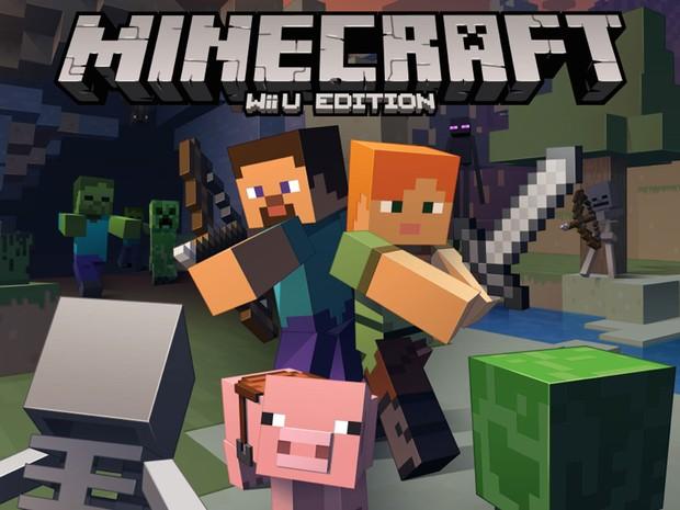 'Minecraft', da Mojang, ganha versão para Wii U, da Nintendo. (Foto: Divulgação/Mojang)