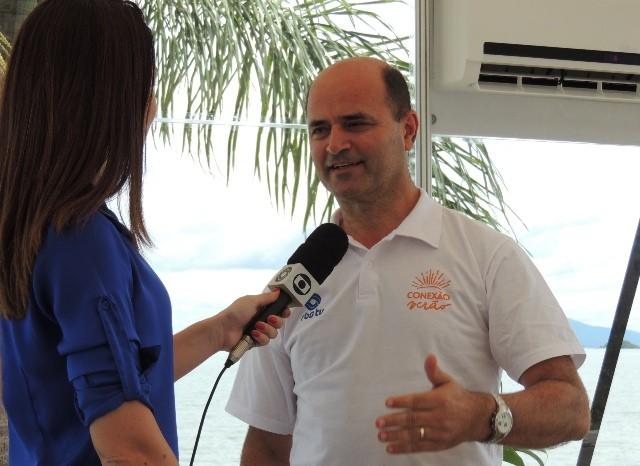 Diretor Geral da RBS TV, Mário Neves, falou sobre a nova campanha do Grupo  (Foto: Géssica Valentini/RBS TV)