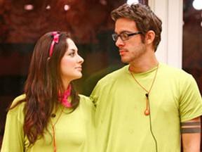 BBB 9 - Max e Francine (Foto: TV Globo)