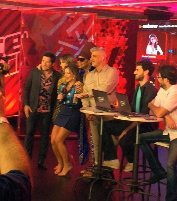 Bastidores do webshow #PréTVB (Foto: Arquivo Pessoal)