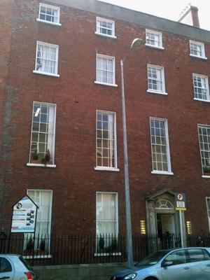 IEA Irlanda fachada cursos fechamento 2015 intercâmbio (Foto: Letícia Assunção/ Arquivo Pessoal)