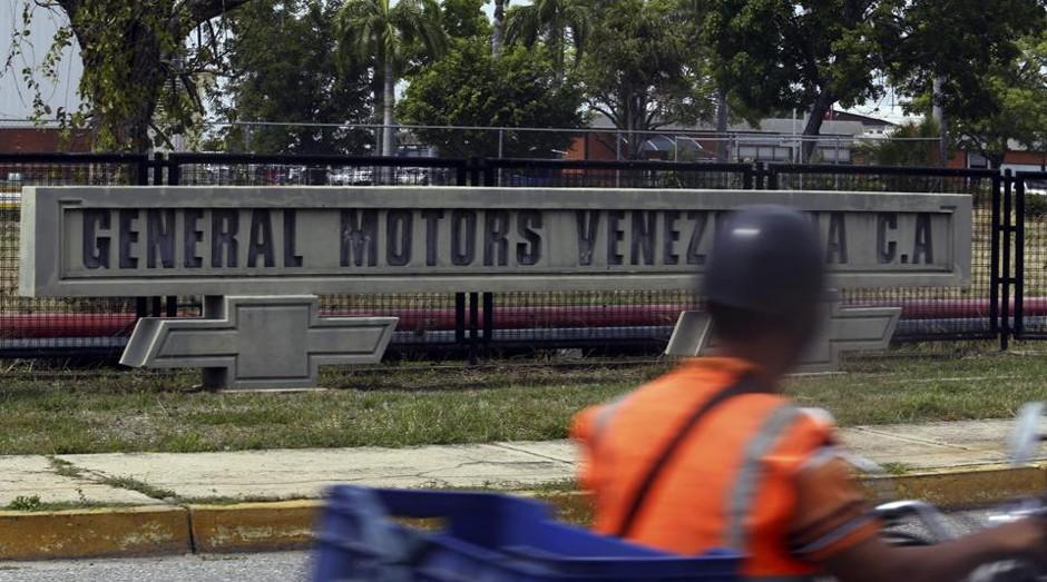 Entrada da General Motors na Venezuela: crise acabou afetando a operação da empresa (Foto: Reprodução)