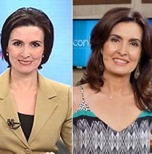Fátima lembra alisamento: 'Me sentia de touca' (TV Globo)