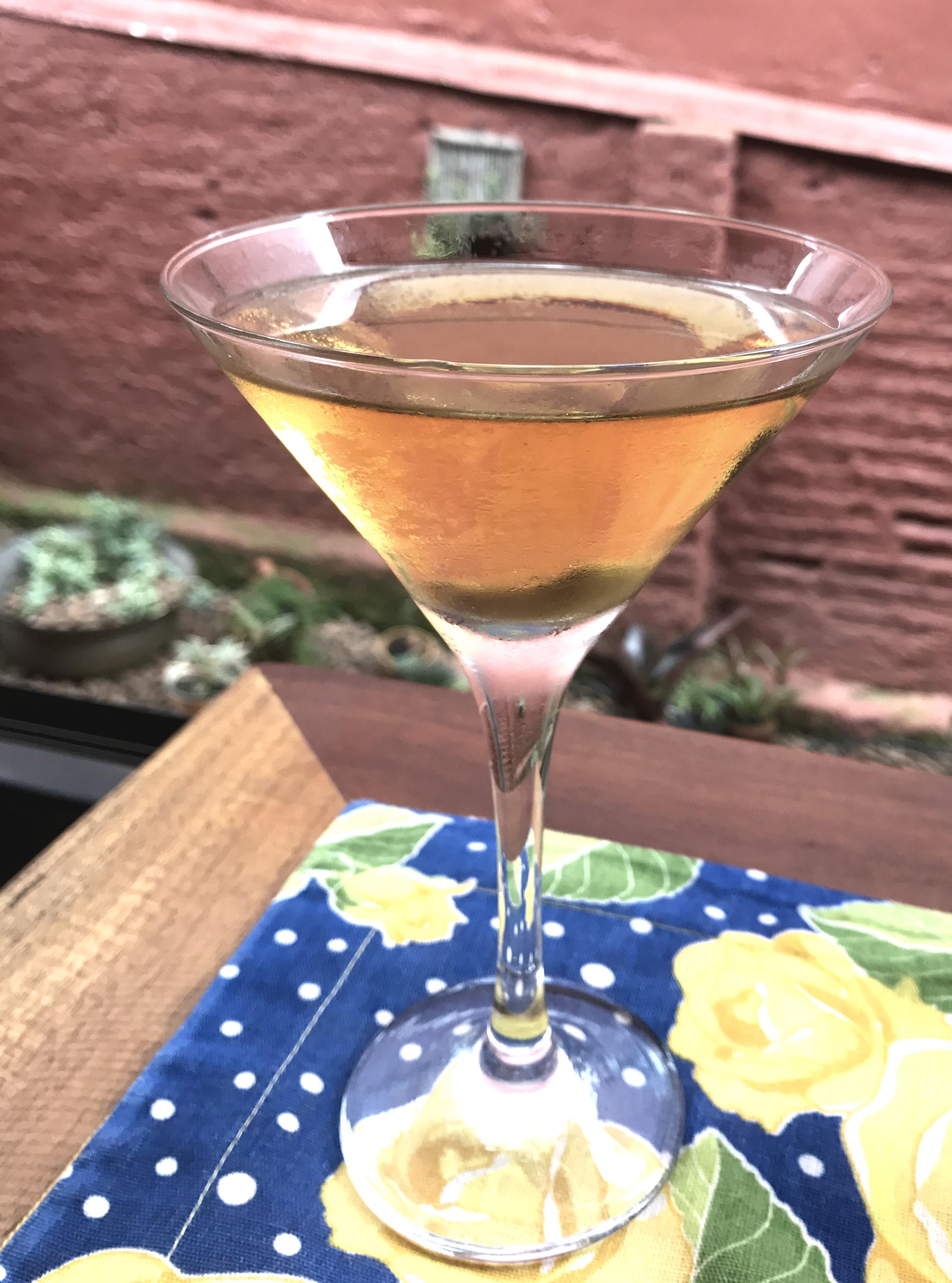 """Drink """"Dry Martini"""", do Cozinha com Z (Foto: Divulgação)"""