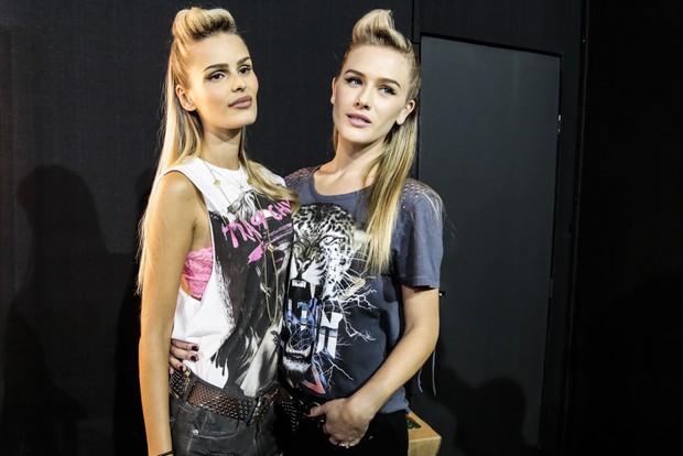 Yasmin Brunet e Fiorella Mattheis (Foto: Alessandra Gerzoschkowitz / EGO)