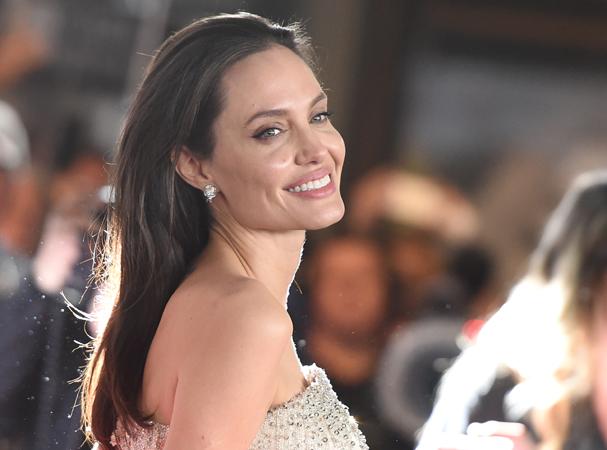 Angelina Jolie, rosto da Mon Guerlain (Foto: Getty Images)