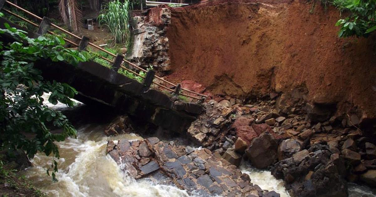 Chuva faz governo decretar situação de emergência em 16 cidades ... - Globo.com