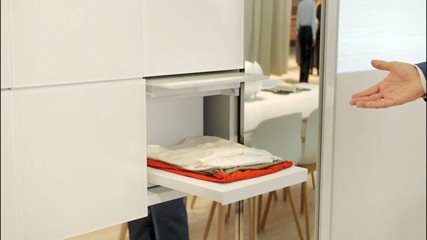 Conheça a máquina de lavar que dobra roupa sozinha  (Foto: Divulgação)