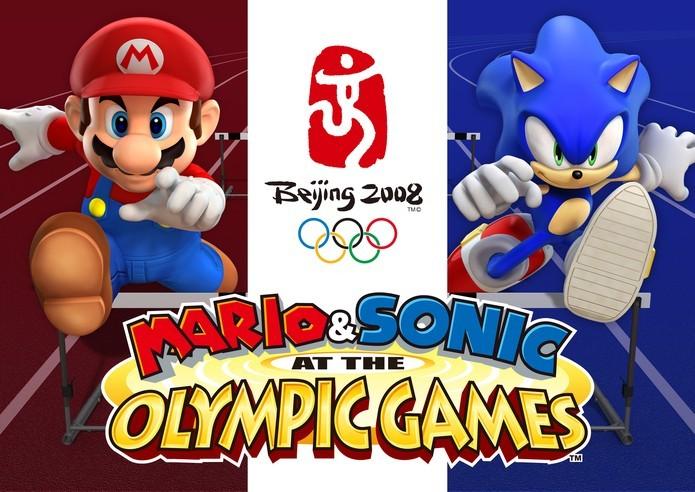 Mario e Sonic nos Jogos Olímpicos (Foto: Divulgação/Sega)