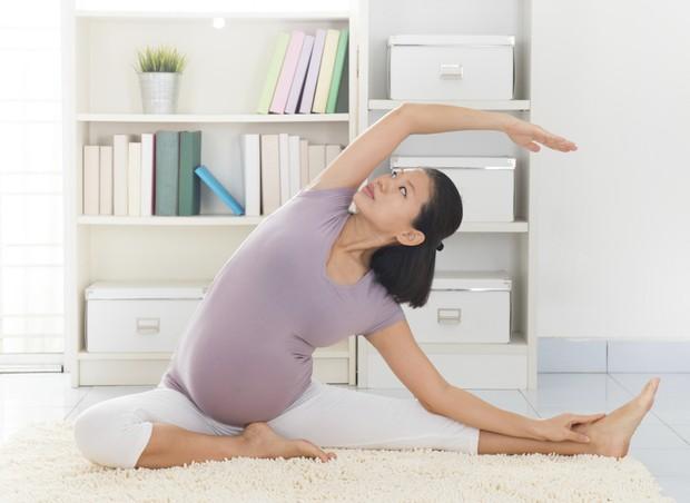 Exercite-se na gravidez (Foto: ThinkStock)