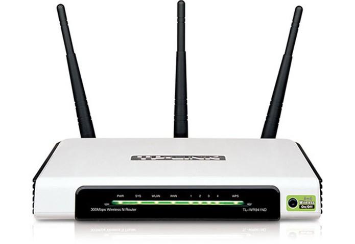 Com segurança em primeiro lugar o Tp-Link TL-Wr941ND alcança 300 Mbps e tem três antenas. (Foto: Divulgação/Tp-Link) (Foto: Com segurança em primeiro lugar o Tp-Link TL-Wr941ND alcança 300 Mbps e tem três antenas. (Foto: Divulgação/Tp-Link))