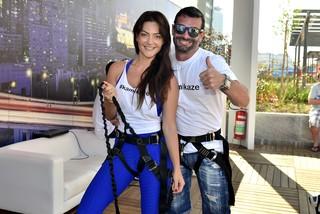 Laura Keller e Jorge Sousa (Foto: Roberto Teixei/EGO)