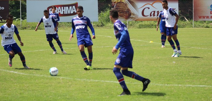 bahia; treino bahia (Foto: Felipe Oliveira/Divulgação/EC Bahia)