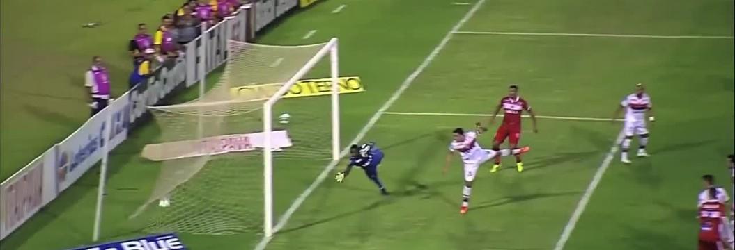 Confira os melhores momentos de  CRB 1 x 2 Atlético-GO, no Estádio Rei Pelé
