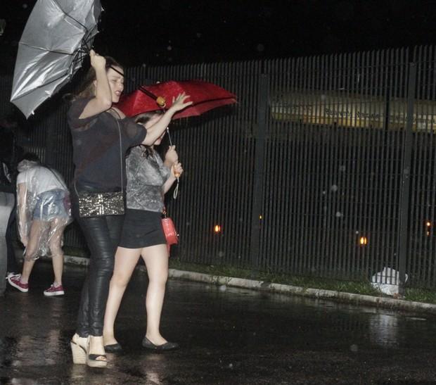 Vivianne Pasmanter chegando no Rock in Rio (Foto: Anderson Barros / EGO)