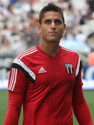 Renan Rocha, goleiro do Botafogo-SP (Foto: Rogério Moroti/Ag. Botafogo)