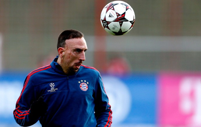 Bayer de Munique Ribery treino (Foto: Reuters)