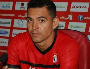 Casagrande, atacante do Campinense (Foto: Silas Batista / GloboEsporte.com)