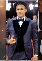 Neymar aposta em chapéus no dia a dia e até no tapete vermelho