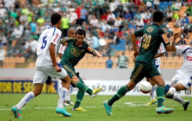 Palmeiras x Barueri Copa São Paulo júnior lance (Foto: Ag. Estado)