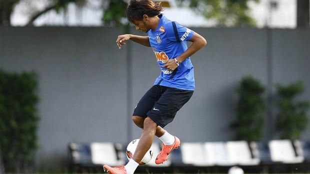 Neymar treino Santos (Foto: Divulgação/Flickr Santos FC)