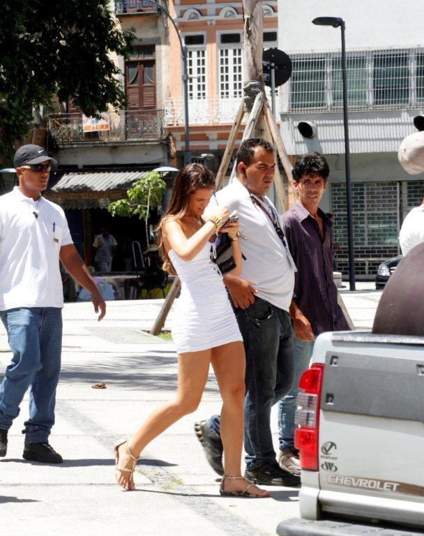 """Bruna Marquezine grava """"Salve Jorge"""" (Foto: Onofre Veras / AgNews)"""